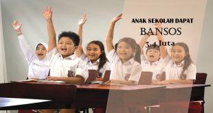 bansos anak sekolah